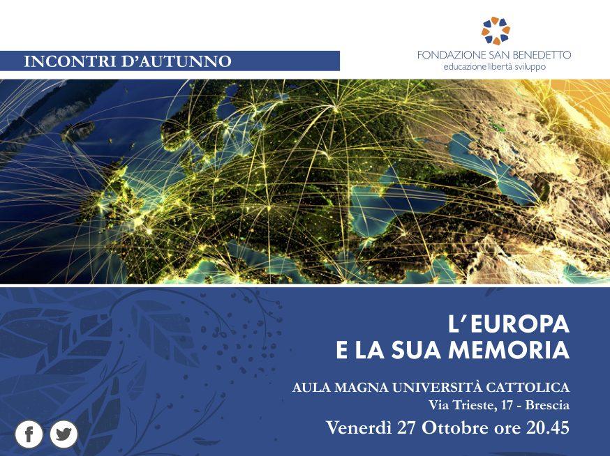 IdA III edizione || L'Europa e la sua memoria