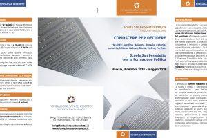 Brochure Scuola S.Benedetto 2018-19 – aggiornato