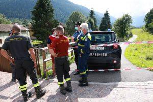 FotoLive – Brescia : Temu ritrovamento cadavere donna